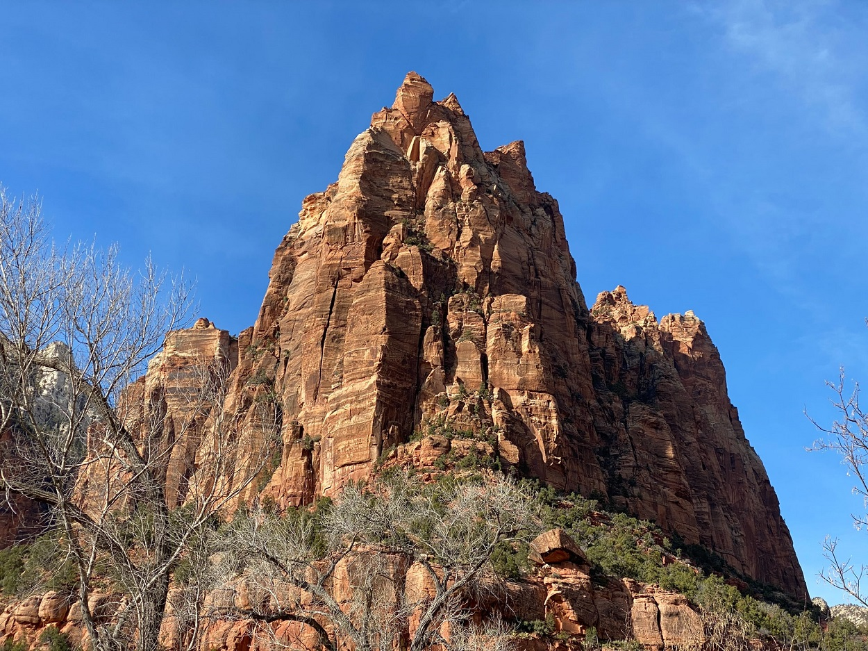 Hiking on Zion National Park